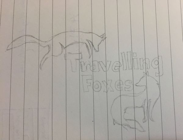 The Travelling Foxes Logo