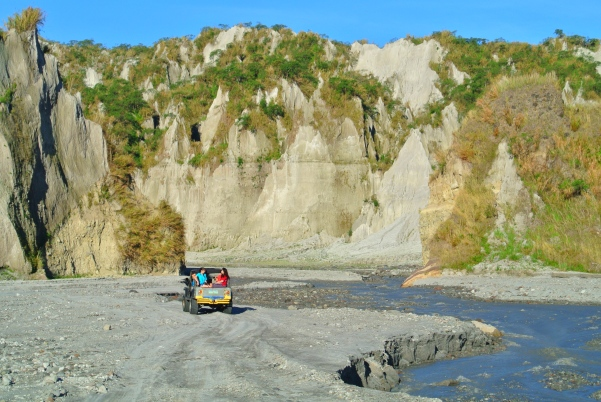 Mount Pinatubo Road Trip View